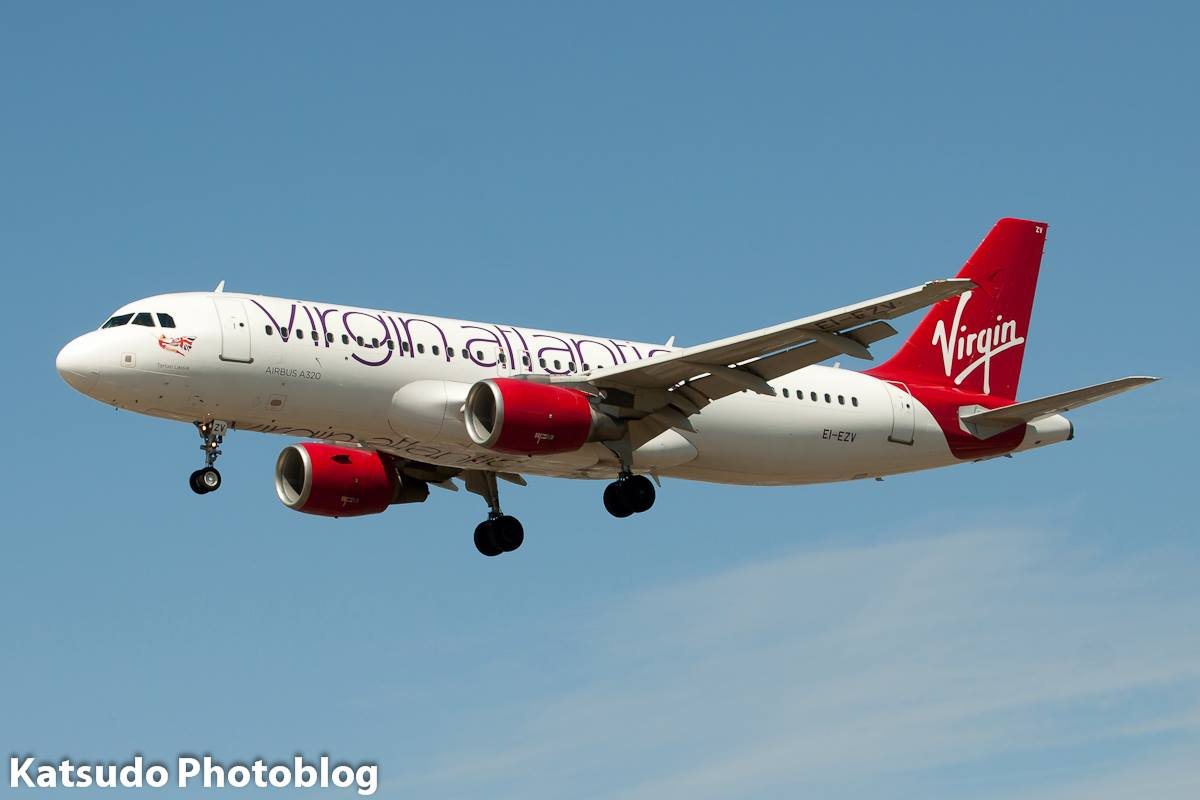 Airbus A.320, Virgin Atlantic, Heathrow