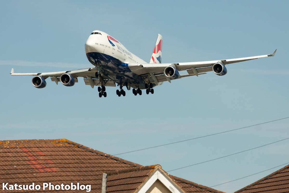 Boeing 747, British Airways, Heathrow