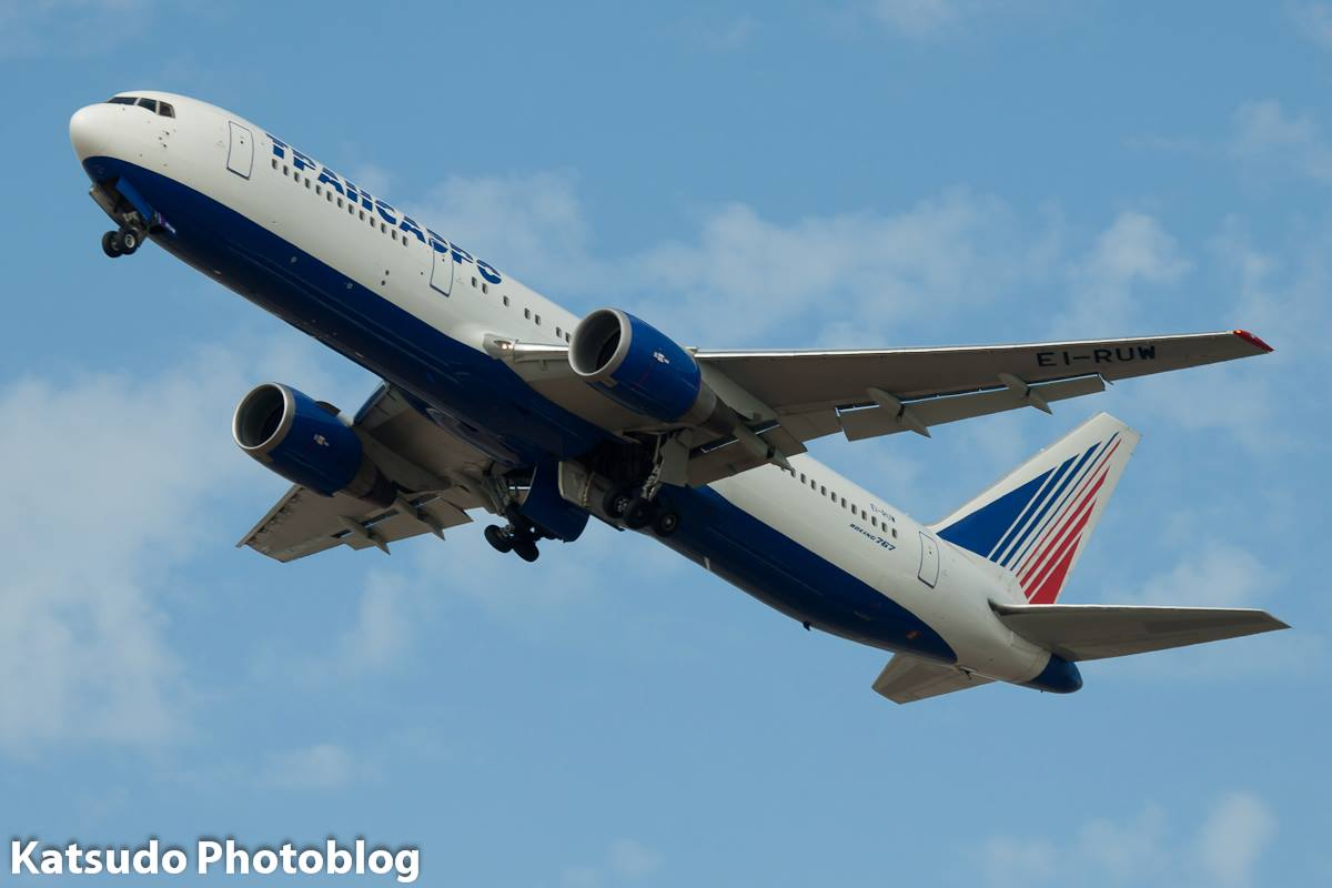 Boeing 767, Transaero, Heathrow