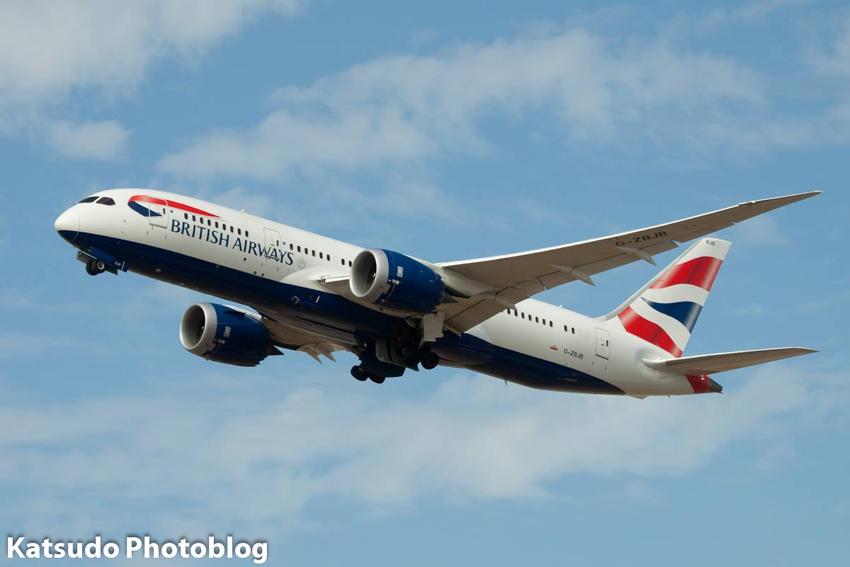 Boeing 787, British Airways, Heathrow
