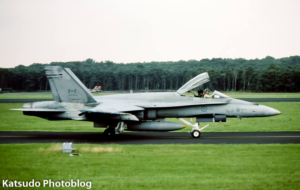 McDonnell Douglas F/A-18 Hornet, Canadian Armed Forces, Soesterberg