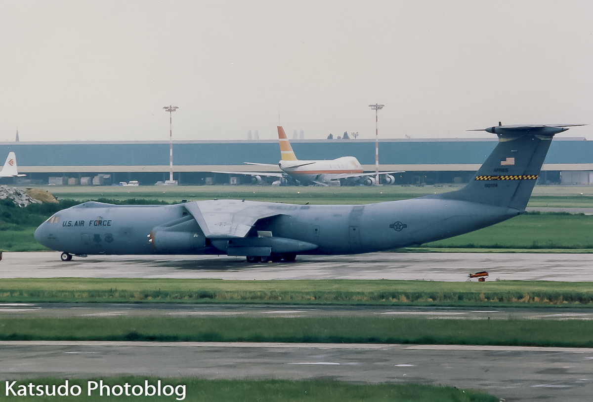 Lockheed C-141B Starlifter, US Air Force, Brussels