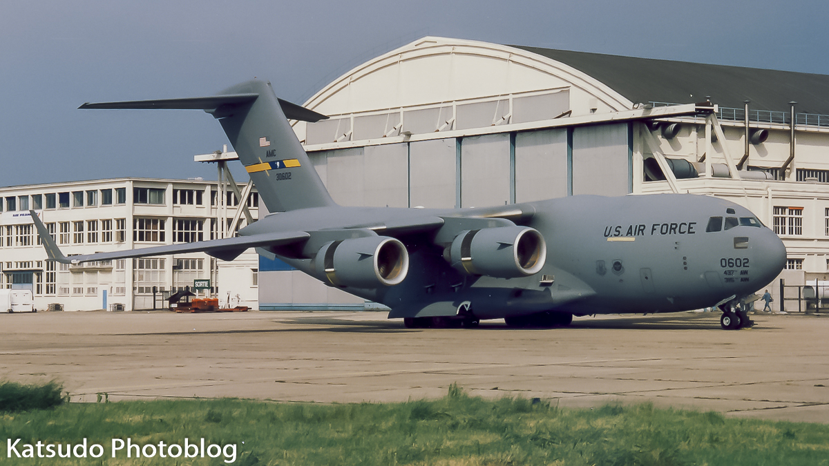Boeing C-17A Globemaster III, US Air Force, Paris Le Bourget