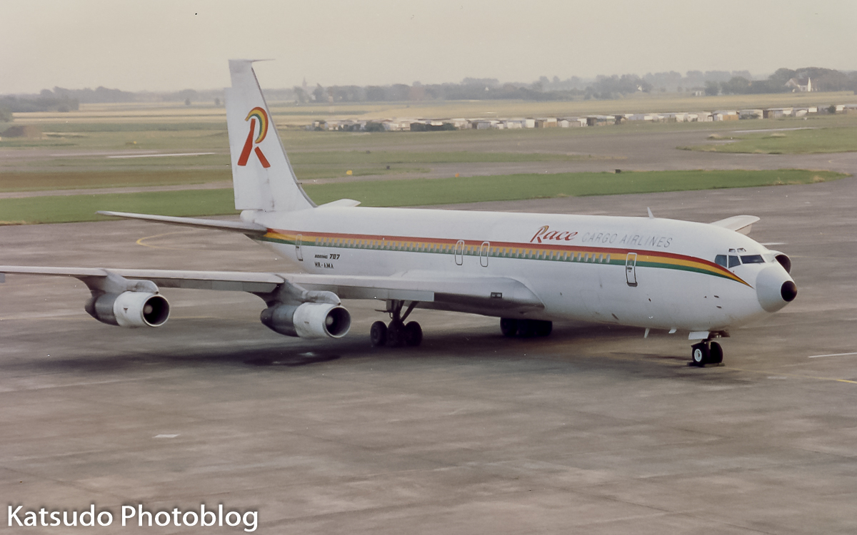 Boeing 707, Race Cargo Airlines, Brussels