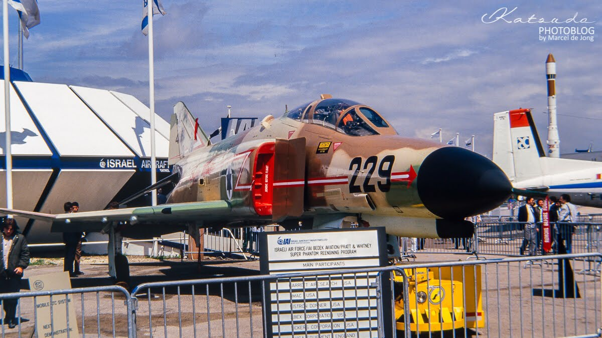 McDonnell Douglas F-4E Phantom II, Israeli Air Force, Paris Le Bourget