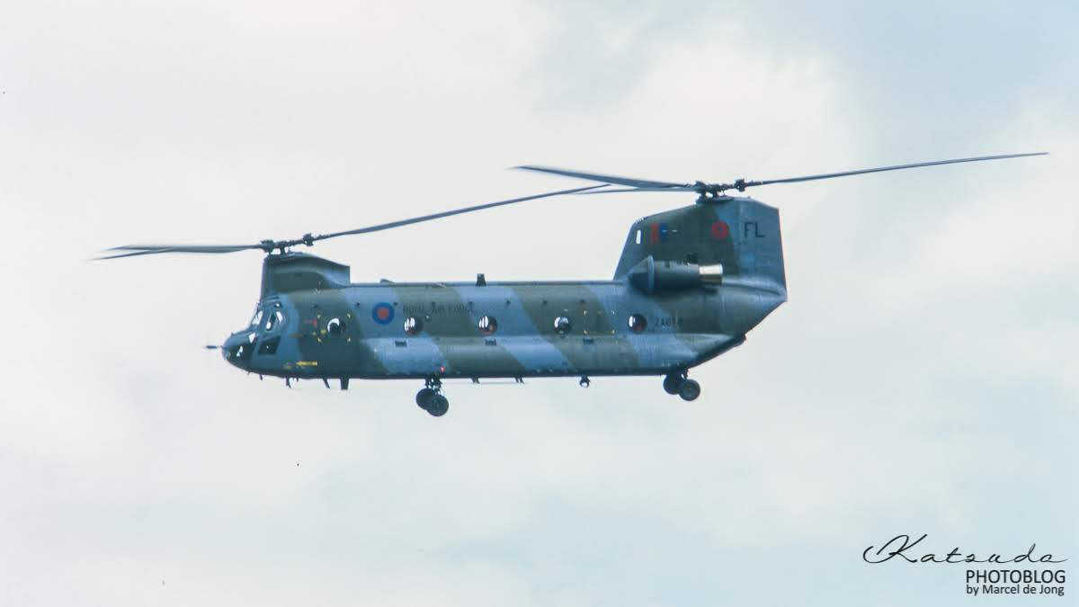 Boeing Chinook, Royal Air Force