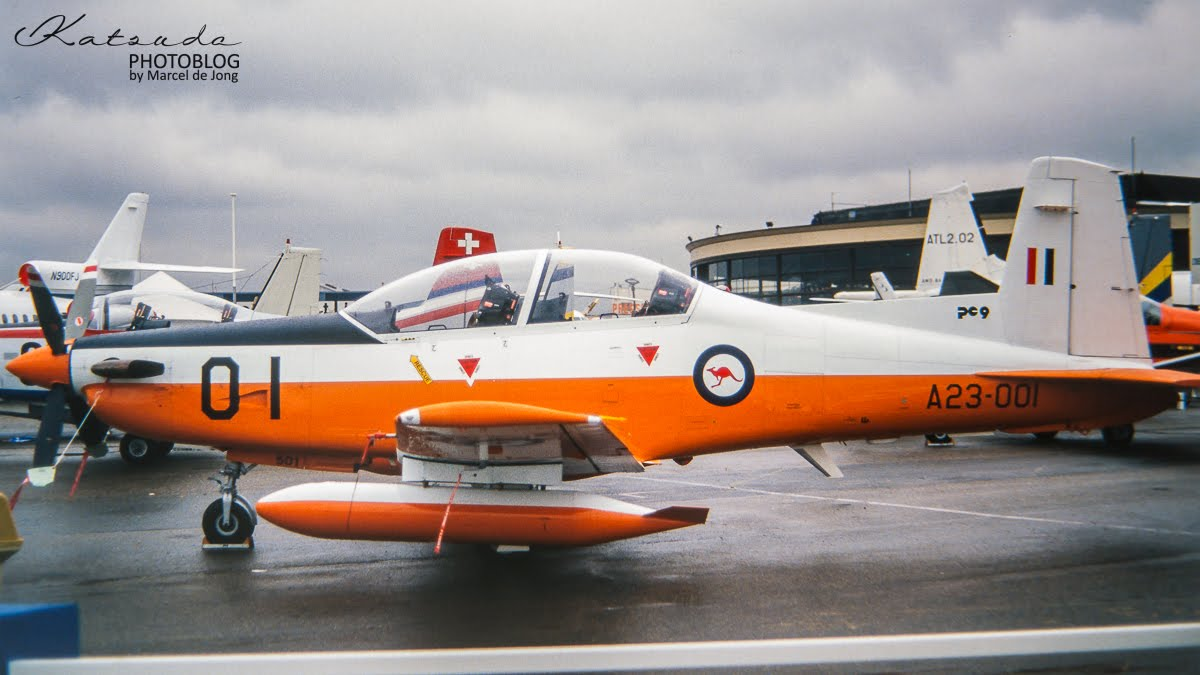Pilatus PC.9, Royal Australian Air Force, Paris Le Bourget
