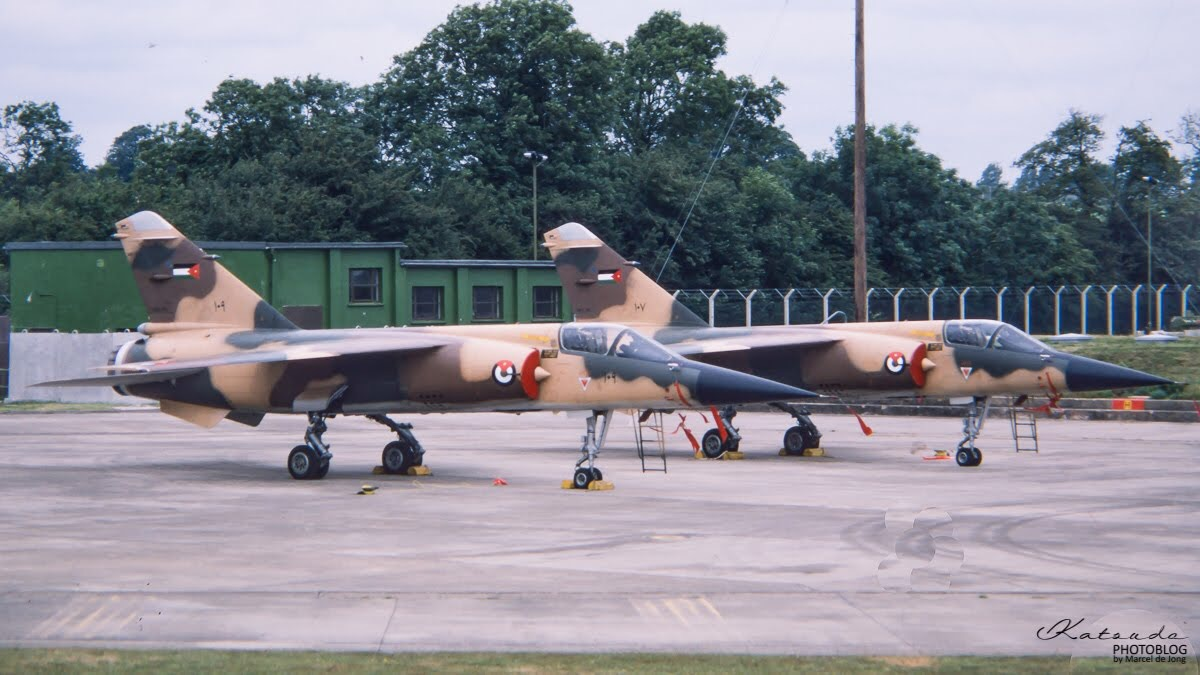 Dassault Mirage F1C, Jordanian Air Force, Fairford