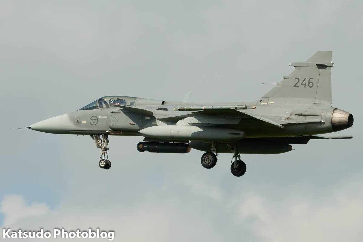 SAAB JAS.39C, Swedish Air Force, Leeuwarden