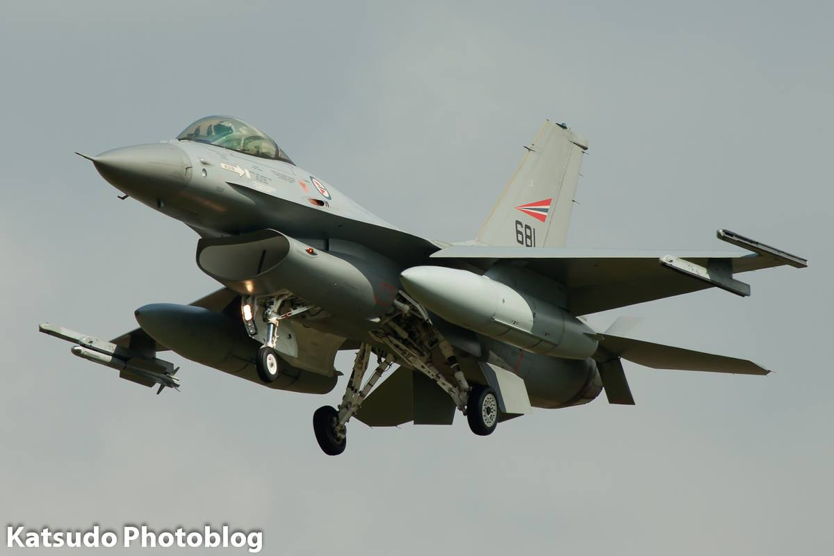 General Dynamics F-16A Fighting Falcon, Norwegian AF, Leeuwarden