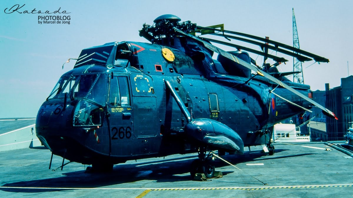 Westland Sea King, Fleet Air Arm, Amsterdam