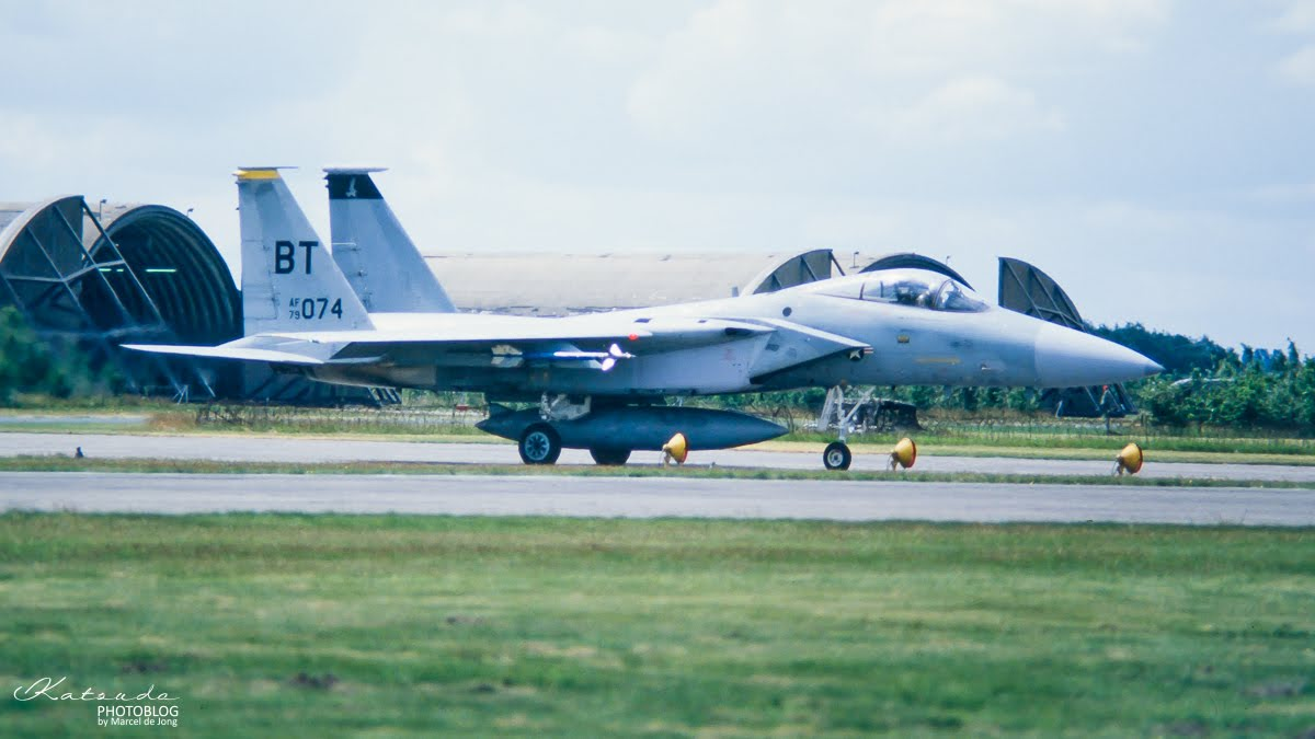 McDonnell Douglas F-15C Eagle,US Air Force, Gilze Rijen