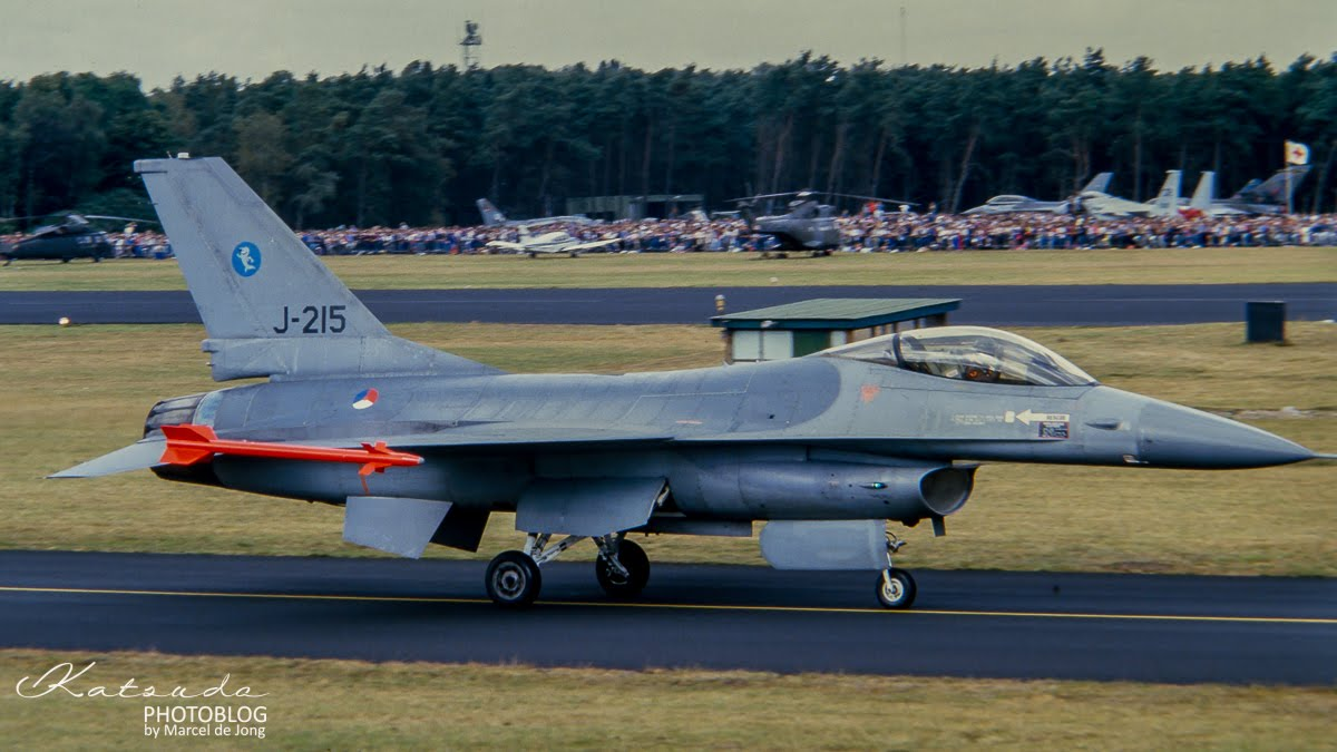 General Dynamics F-16A Fighting Falcon, KLu, Soesterberg