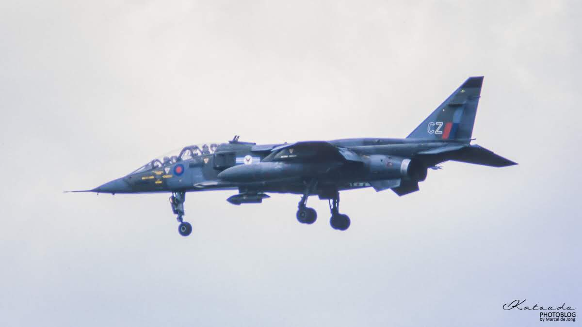 SEPECAT Jaguar T2, Royal Air Force, Bruggen