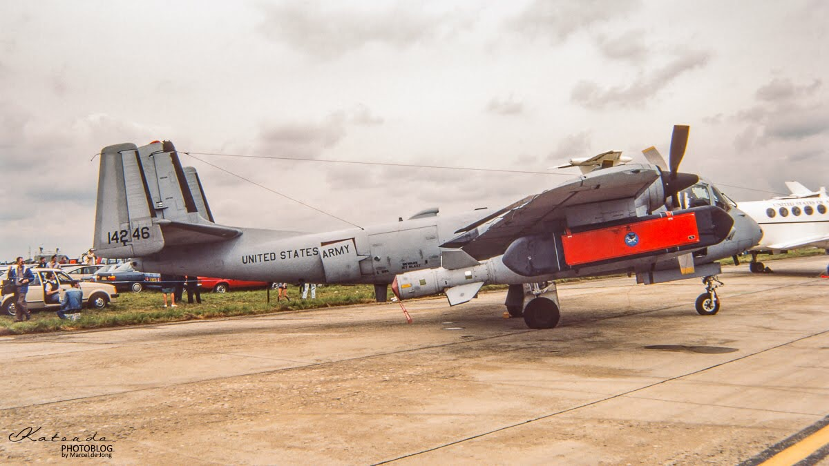 Grumman OV-1 Mohawk, US Army, Fairford