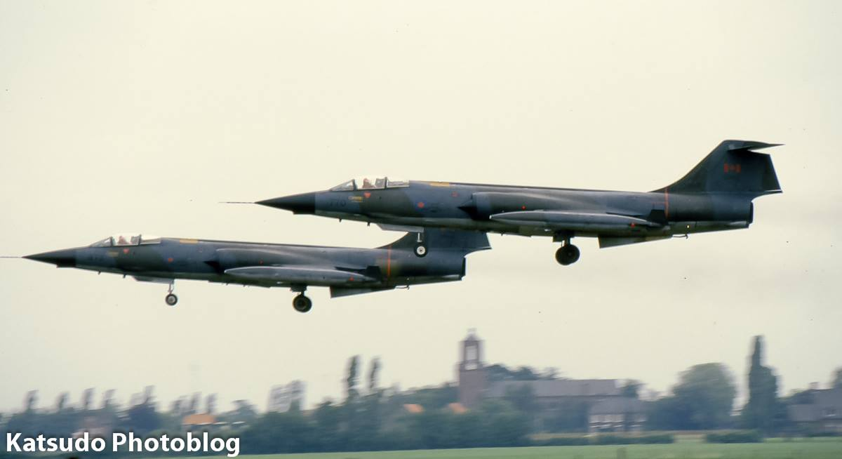 Lockheed CF-104 Starfighter, Candian Armed Forces, Gilze-Rijen
