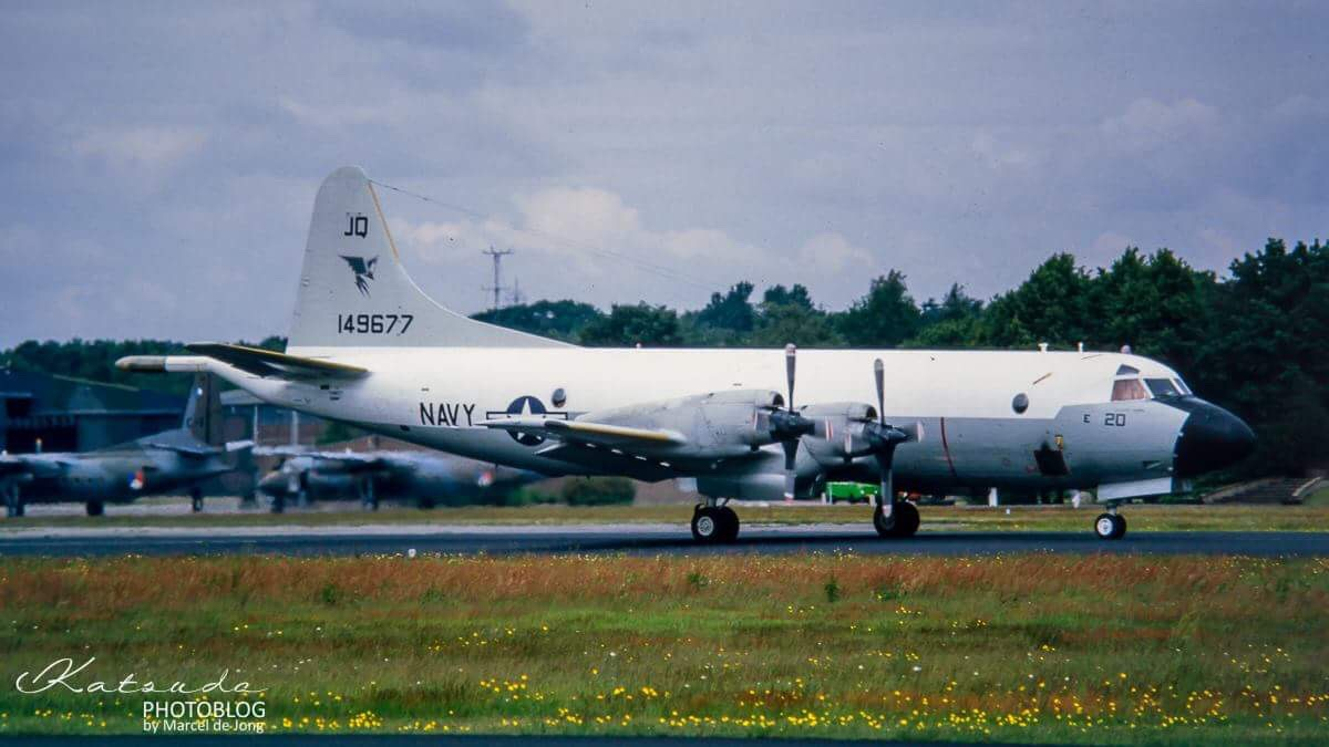 Lockheed P-3C Orion, US Navy, Soesterberg
