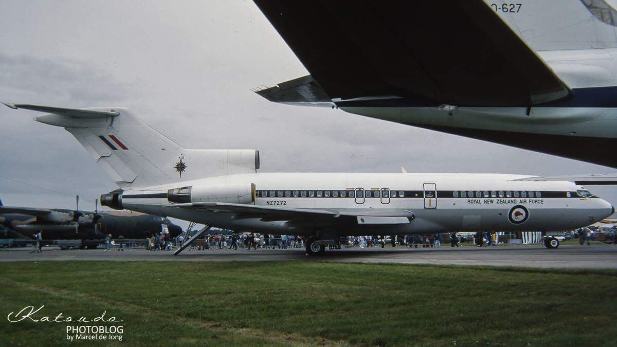Boeing 727, Royal New Zealand Air Force, Fairford