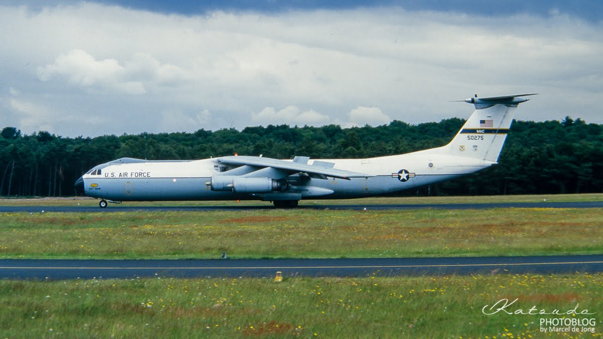 Lockheed C-141A Starlifter, US Air Force, Soesterberg