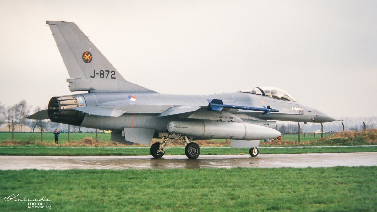 General Dynamics F-16A Fighting Falcon, KLu, Volkel