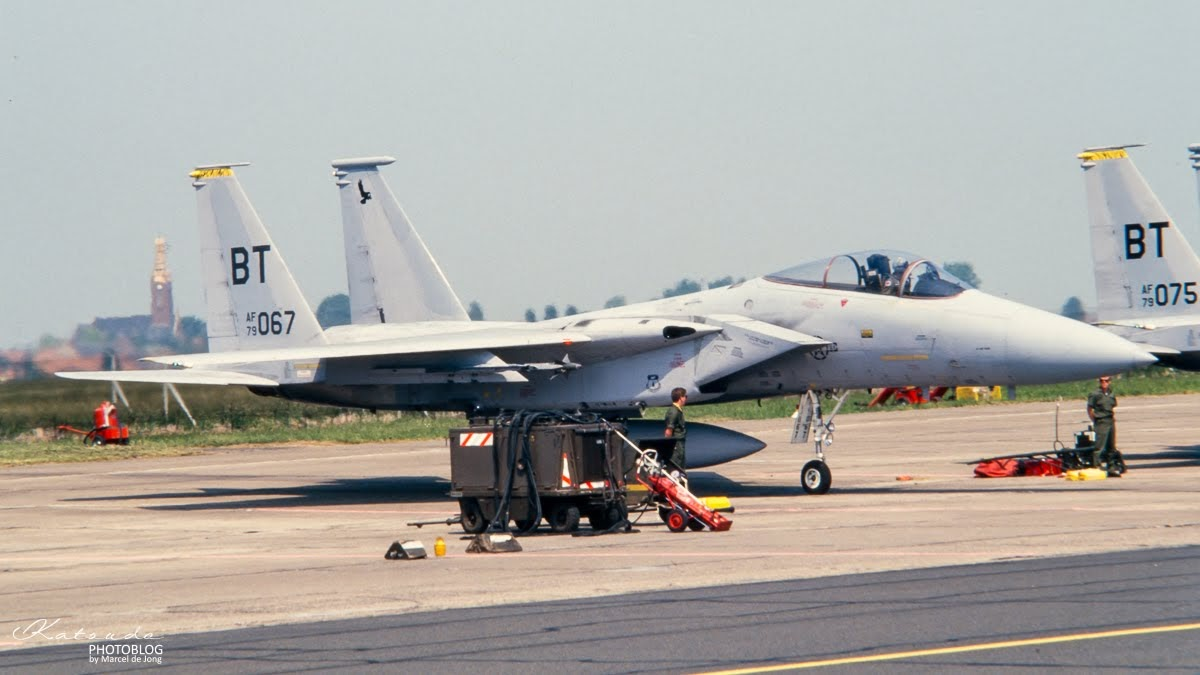 McDonnell Douglas F-15C Eagle, US Air Force, Cambrai Epinoy