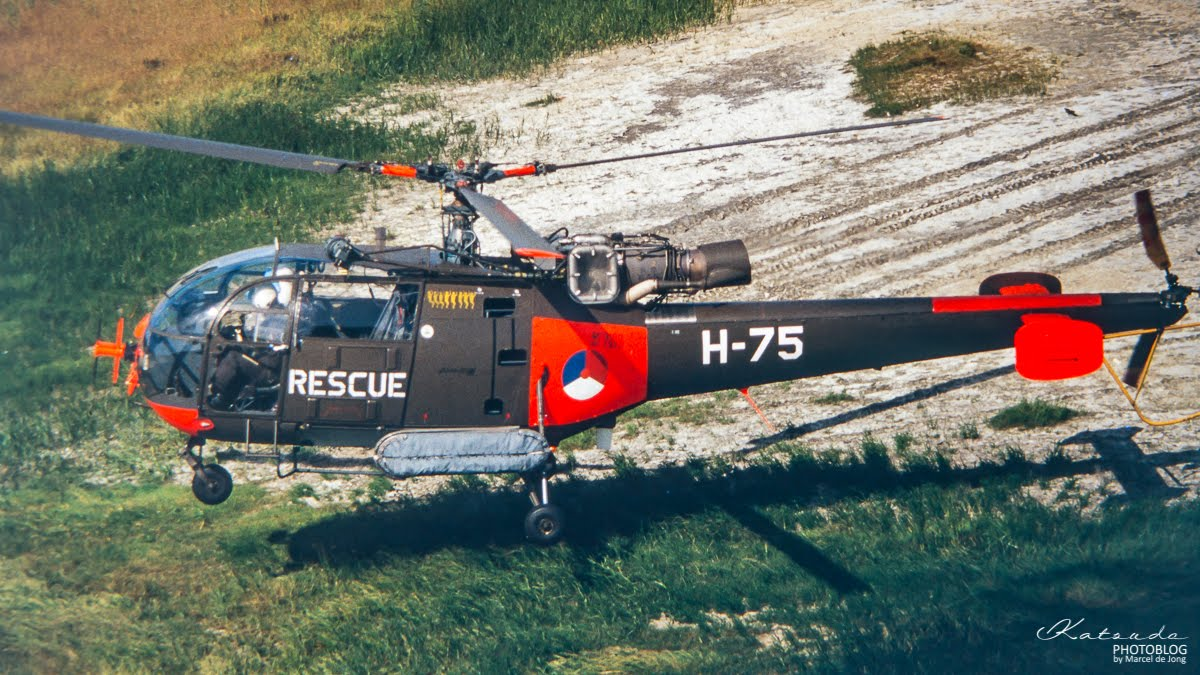 Sud Aviation SA.316 Alouette III, KLu, Terschelling