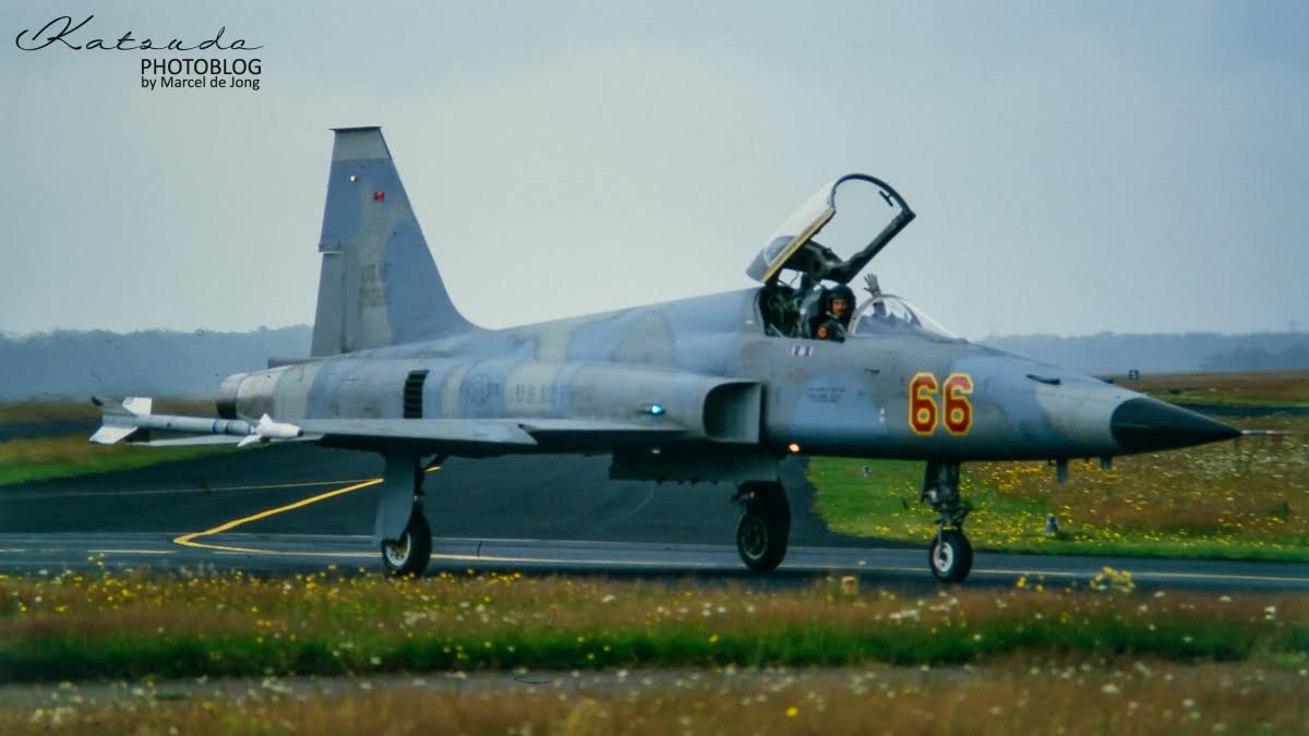 Northrop F-5E Tiger II, US Air Force, Soesterberg