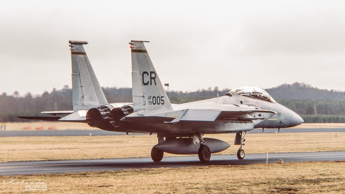 McDonnell Douglas F-15D Eagle, US Air Force, Soesterberg