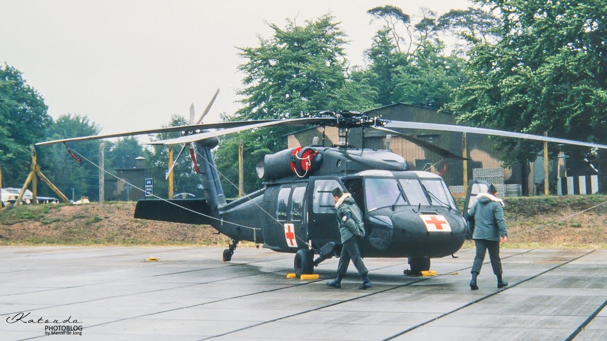 Sikorsky UH-60A Blackhawk, US Army