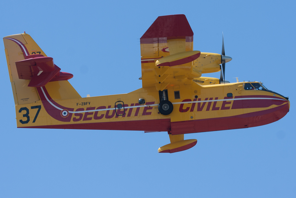 Canadair CL.415, Securité Civile, Marseille Merignane