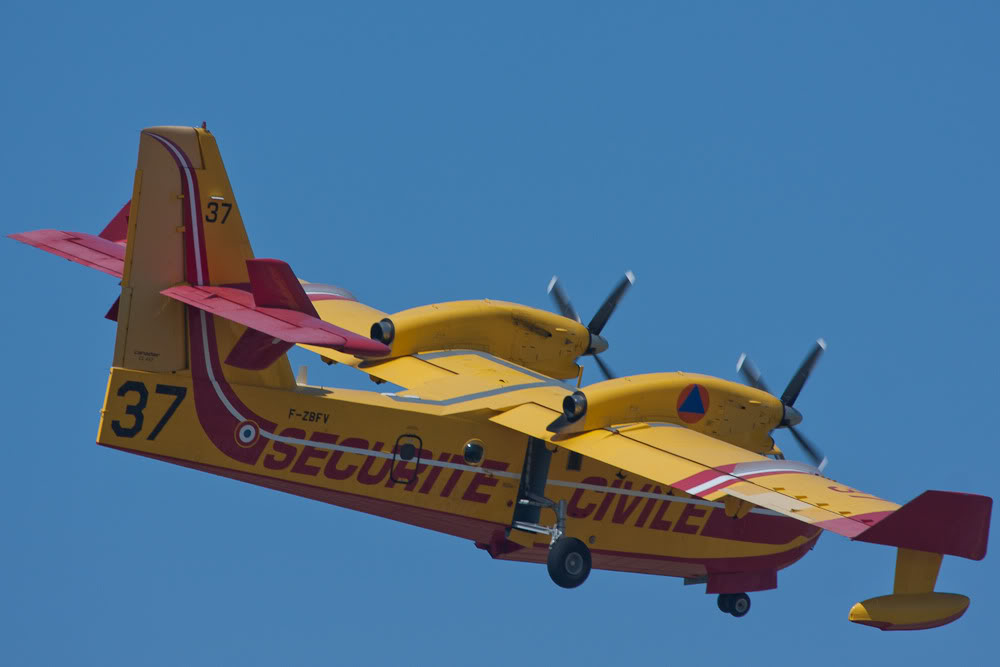 Canadair CL.415, Securité Civile, Marseille-Marignane