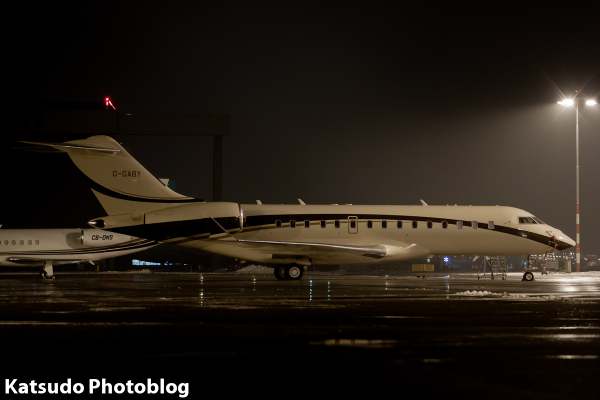 Bombardier BD.700 Global Express, Schiphol