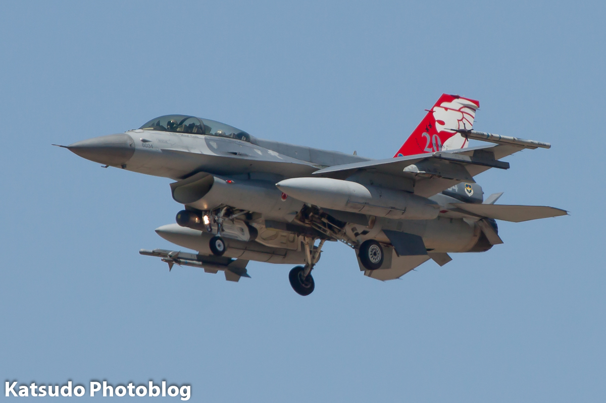 General Dynamics F-16D Fighting Falcon, Singapore AF, Luke AFB