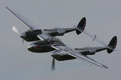 Lockheed P-38 Lightning, Red Bull, Lelystad