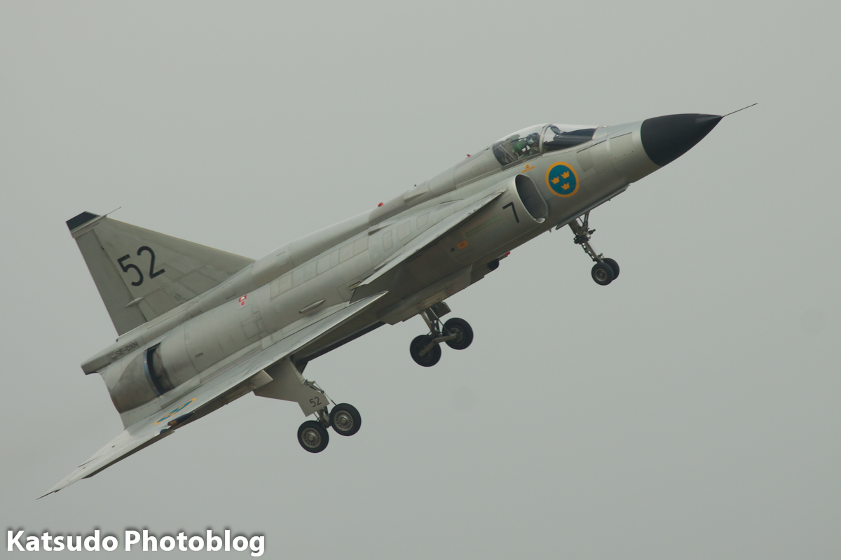 SAAB 37 Viggen, Swedish Air Force, Volkel