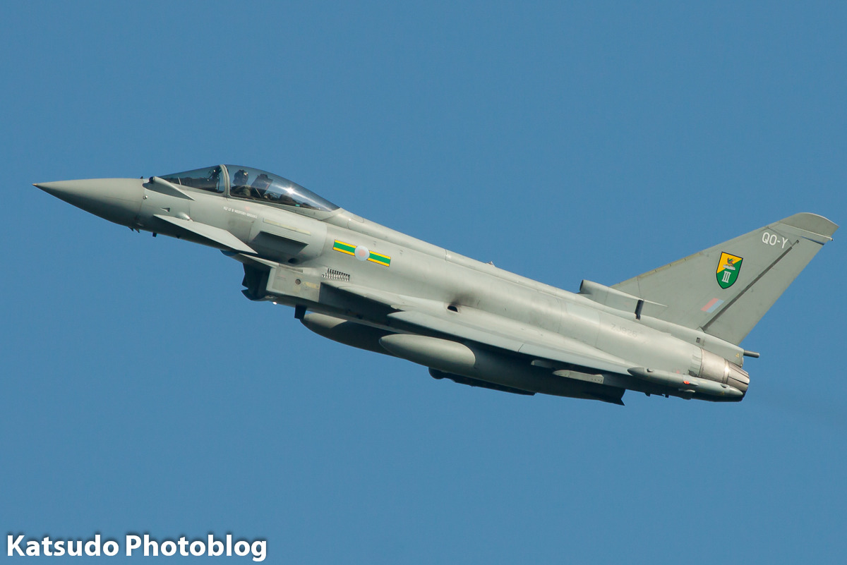 Eurofighter Typhoon FGR4, Royal Air Force, Leeuwarden