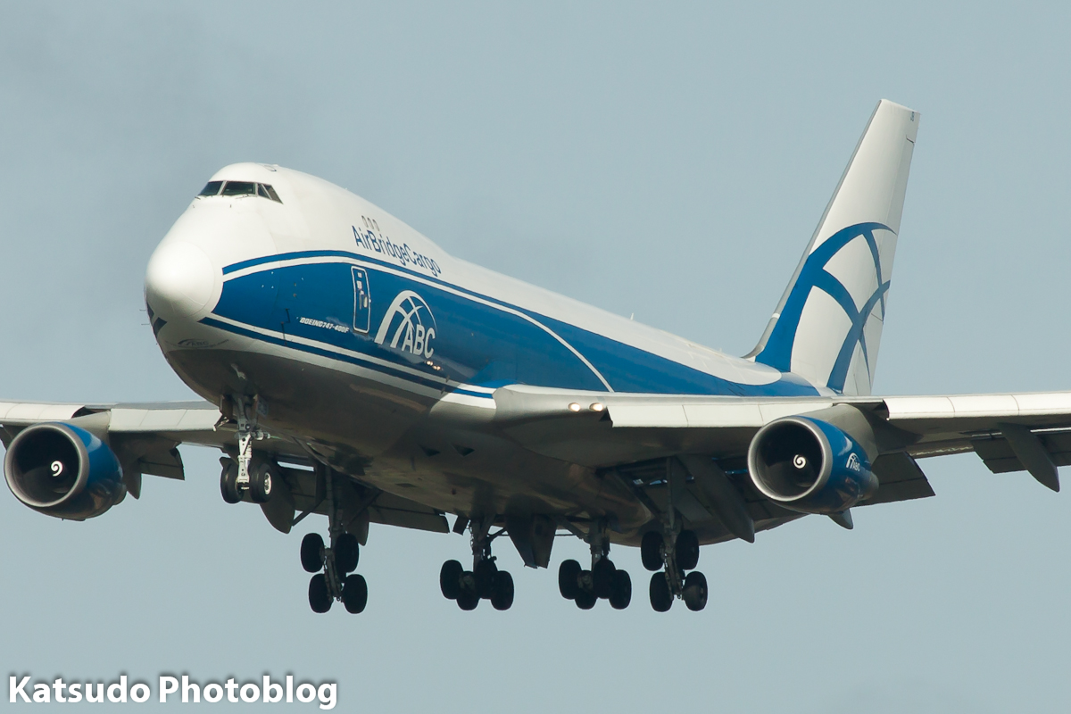 Boeing 747, Air Bridge Cargo, Schiphol