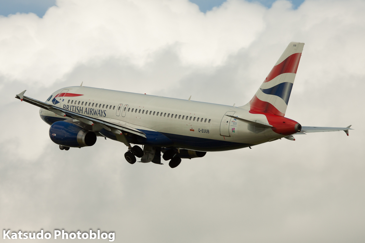 Airbus A.320, British Airways, Schiphol