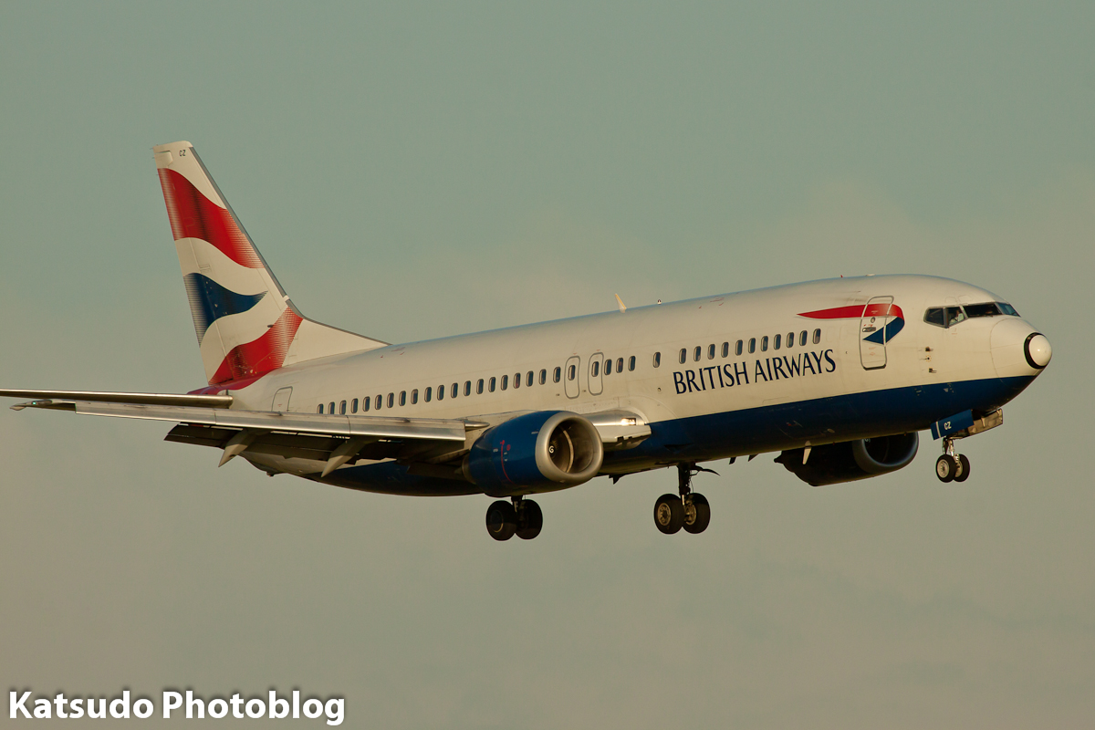 Boeing 737, British Airways, Schilhol