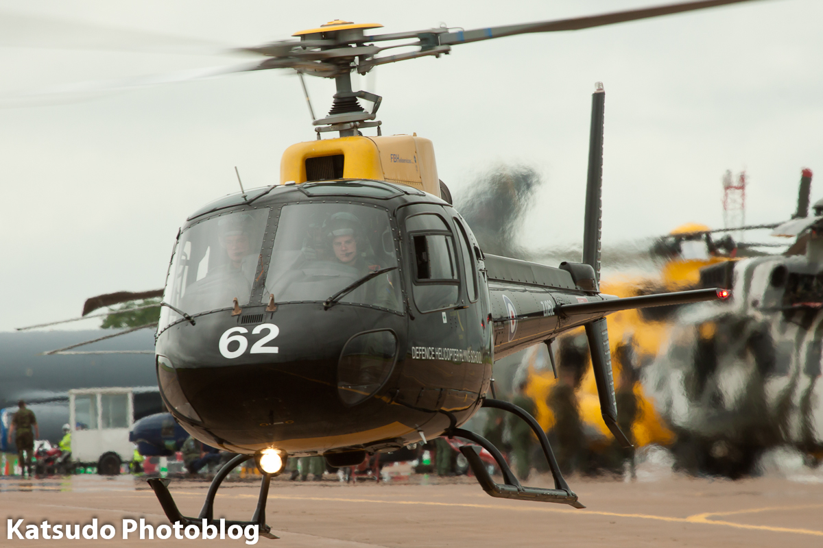 Eurocopter Squirrel HT1, Royal Air Force, Fairford
