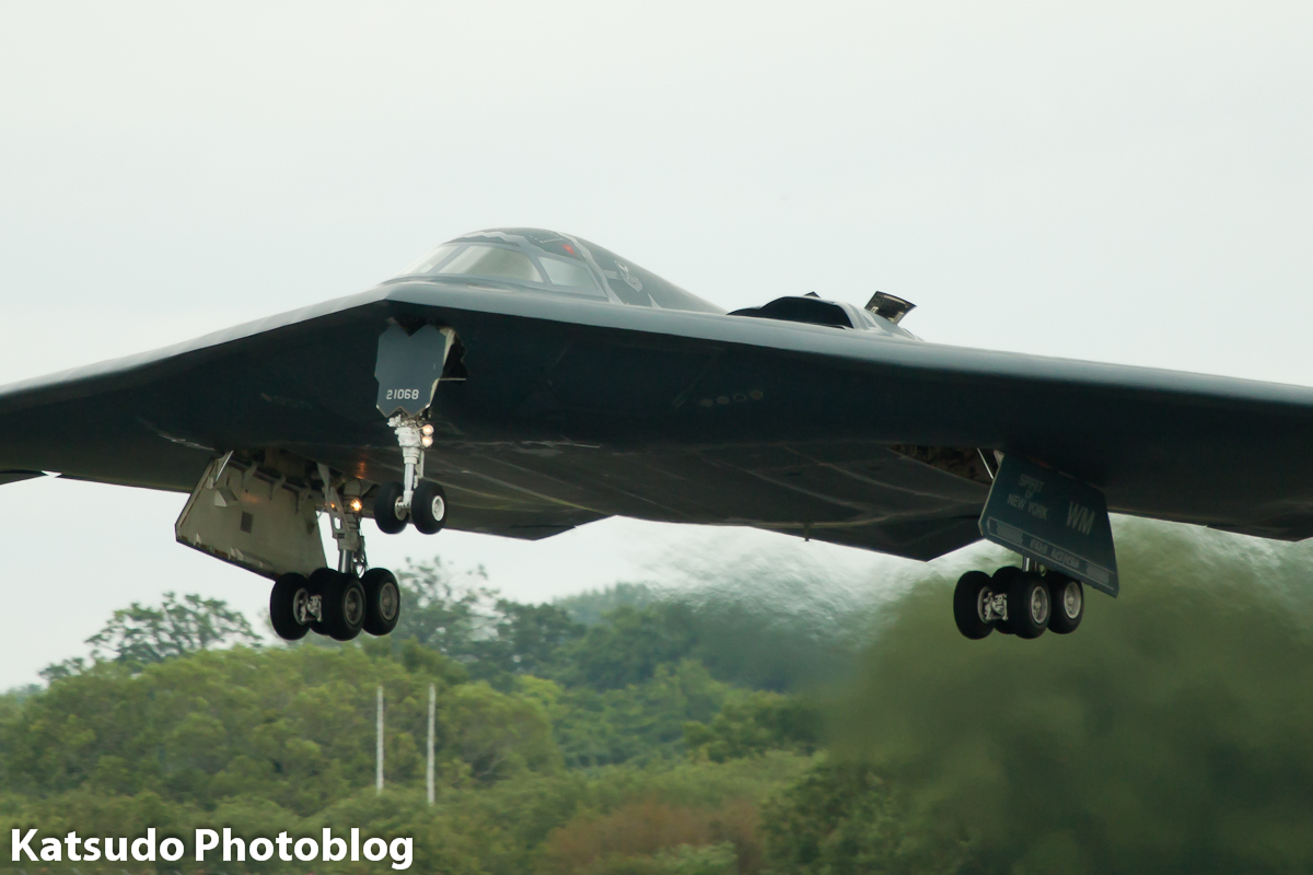 Northrop B-2A Spirit, US Air Force, Fairford