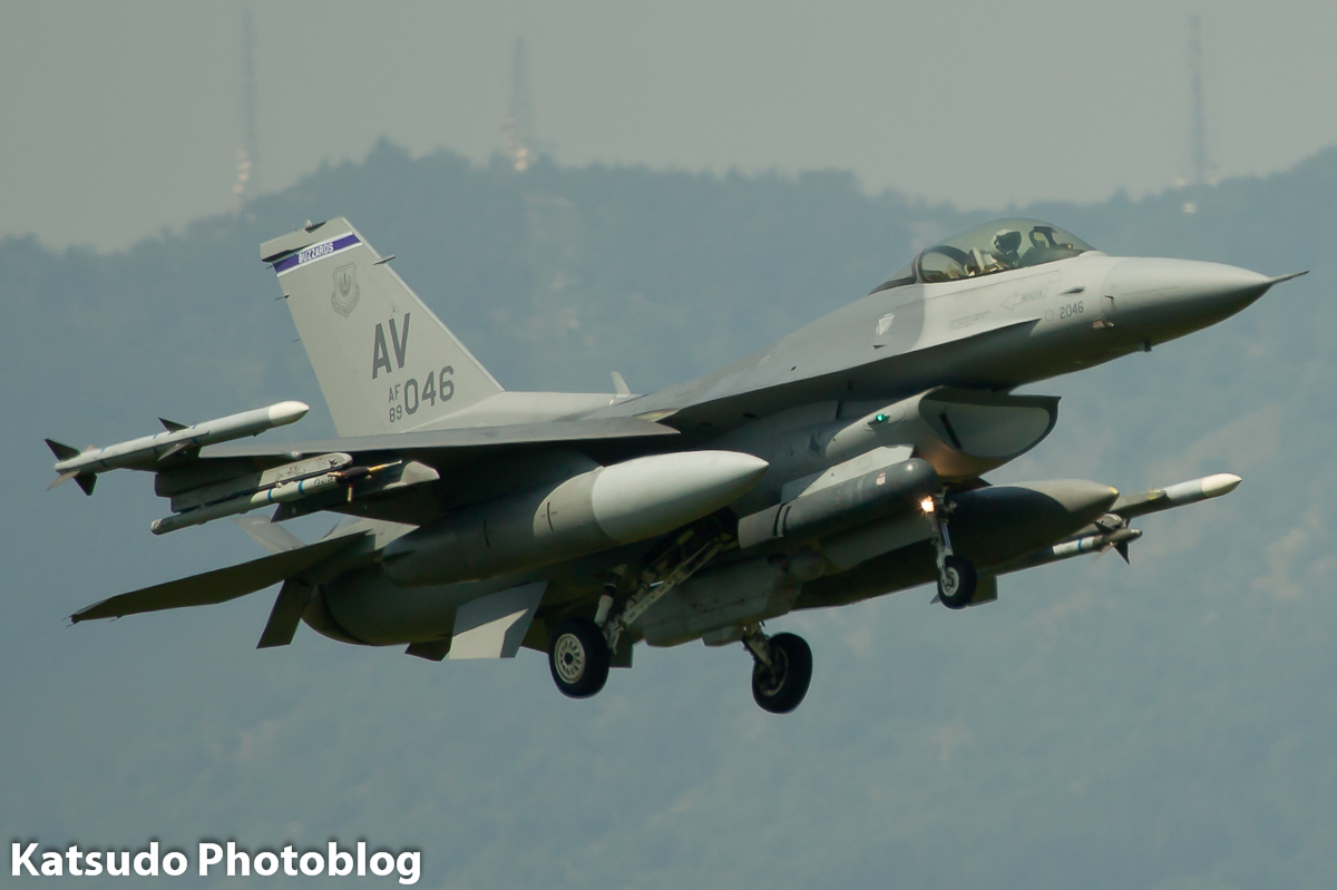 General Dynamics F-16C Fighting Falcon, US Air Force, Aviano