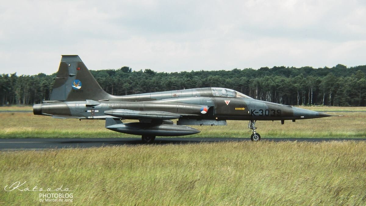 Northrop NF-5A Freedom Fighter, KLu, Soesterberg