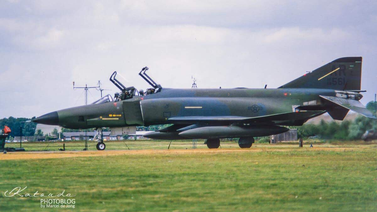 McDonnell Douglas RF-4C Phantom II, US Air Force, Gilze Rijen