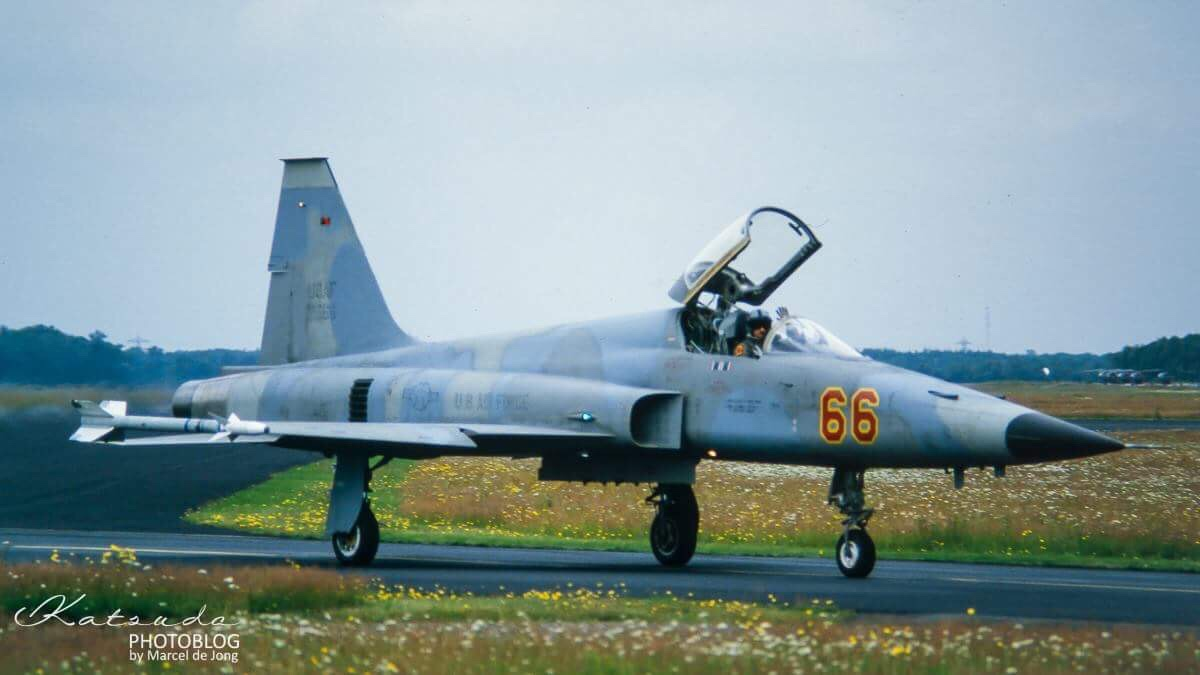 Northrop F-5E Tiger, US Air Force, Soesterberg