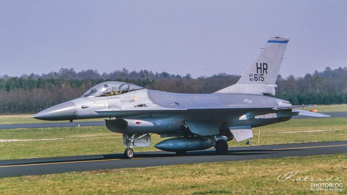 General Dynamics F-16A Fighting Falcon, US Air Force, Soesterberg