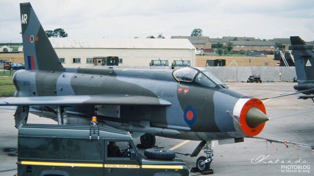 English Electric Lightning F6, Royal Air Force, Fairford