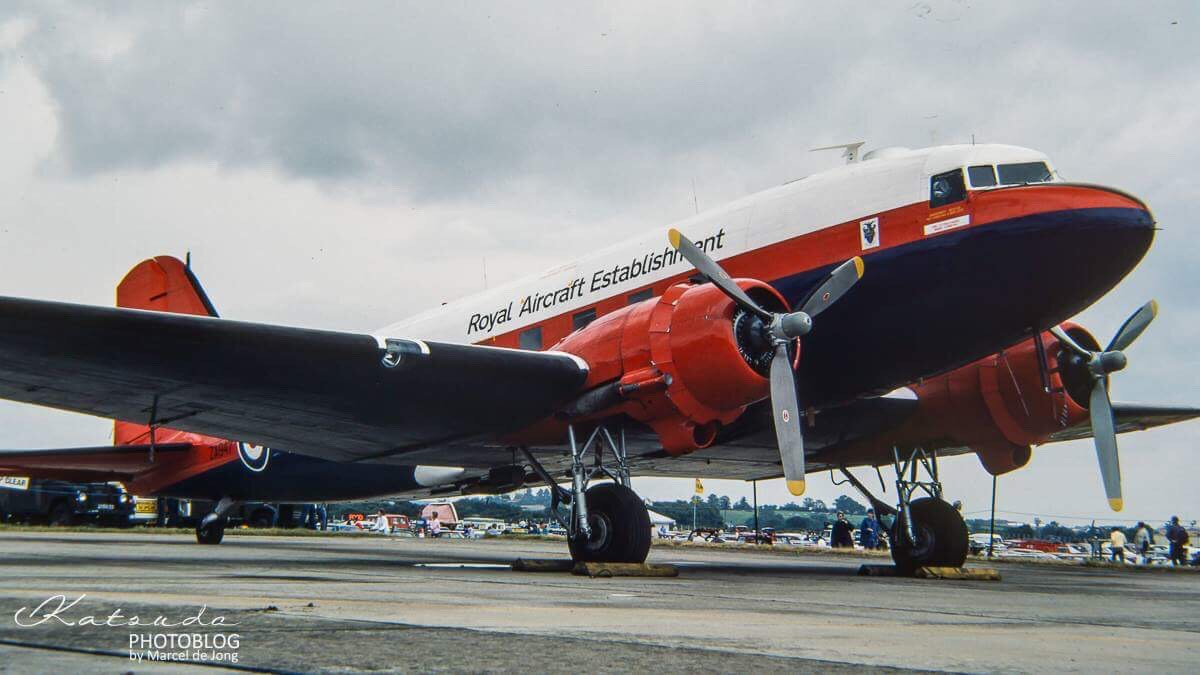 Douglas C-47 Dakota, Royal Aircraft Establishment, Fairford