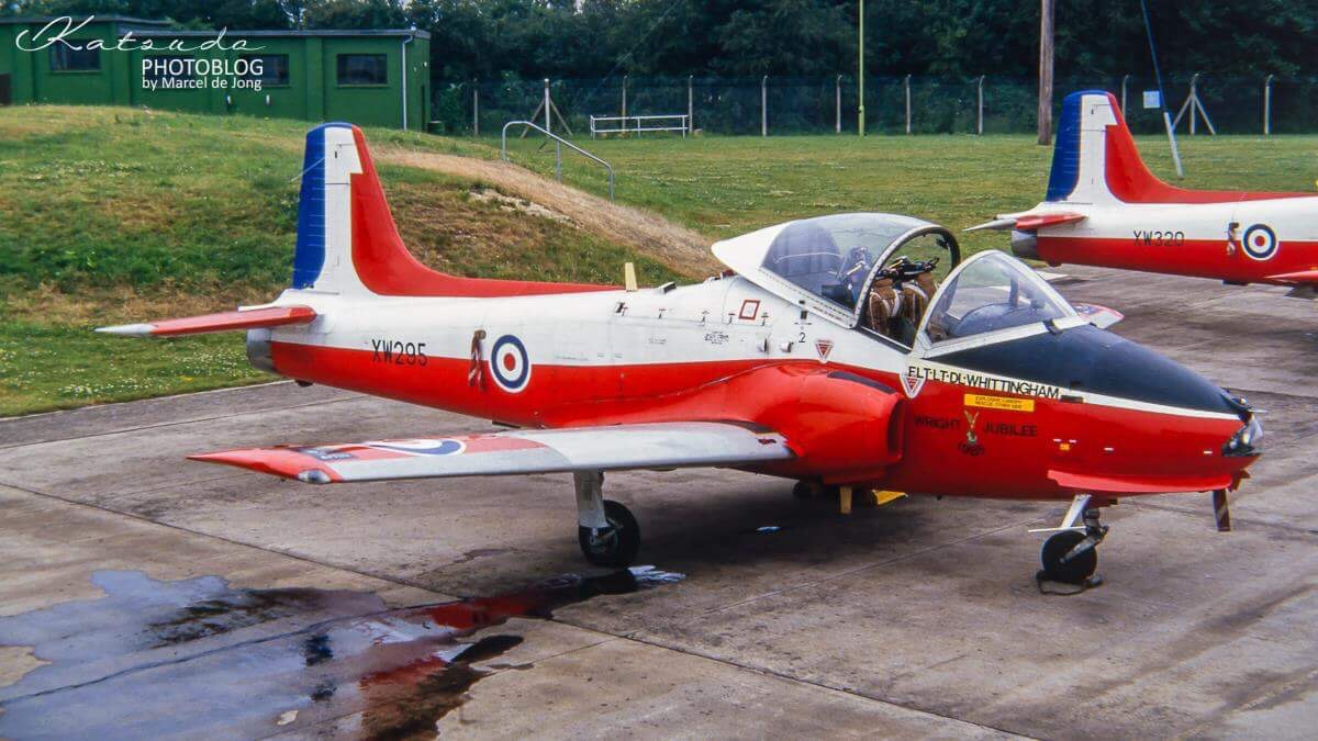 BAC Jet Provost, Royal Air Force, Fairford