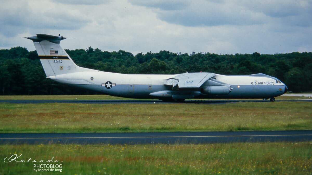 Lockheed C-141B Starlifter, US Air Force, Soesterberg